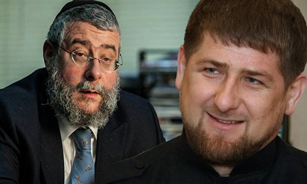 Кадыров добился извинения главного раввина Москвы перед мусульманами