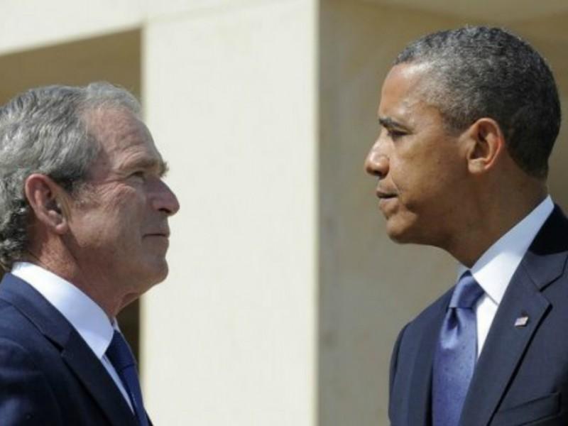 Обама оставил далеко позади Джорджа Буша-младшего в рейтинге президентов США