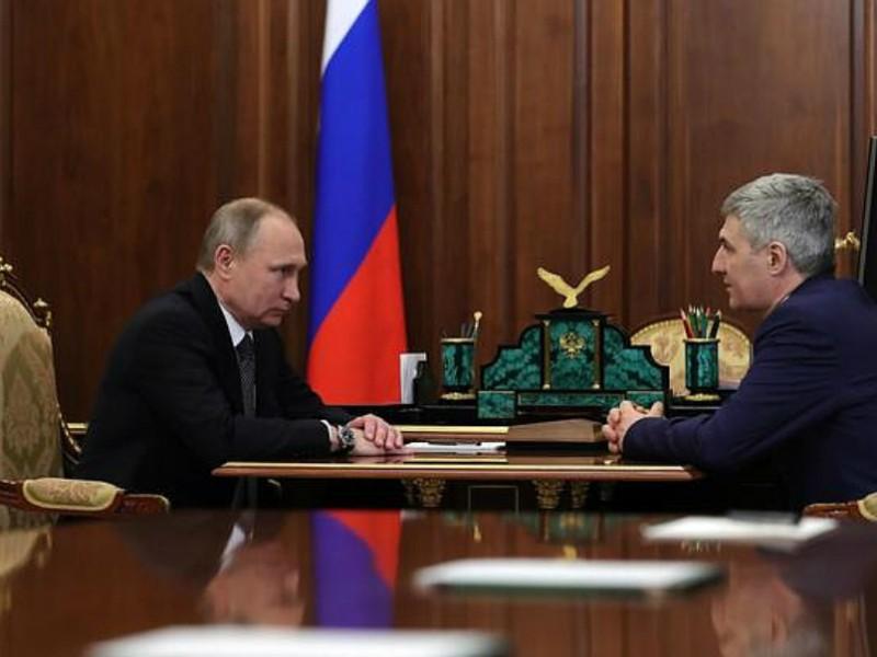 Путин нашел замену Худилайнену на посту главы Карелии