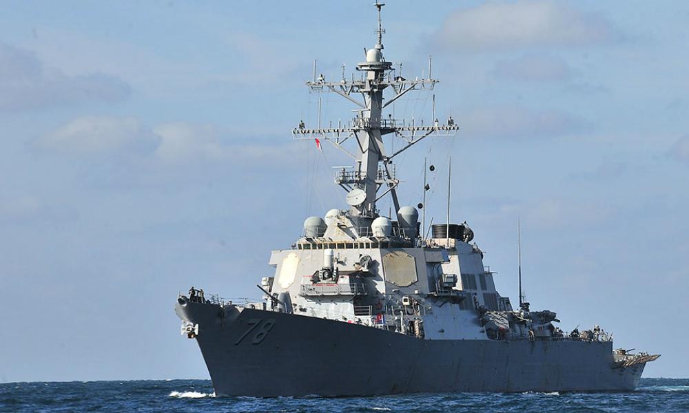 Американский эсминец Porter вошел в акваторию Черного моря для участия в учениях НАТО
