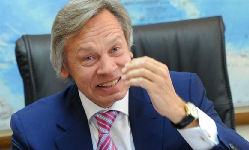Пушков: Украина будет прорываться вЕС «сБандерой наперевес»