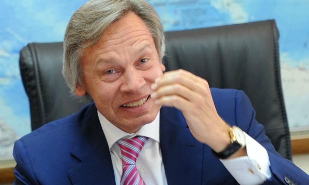 Пушков высмеял поставленный перед Украиной выбор между Бандерой и Европой