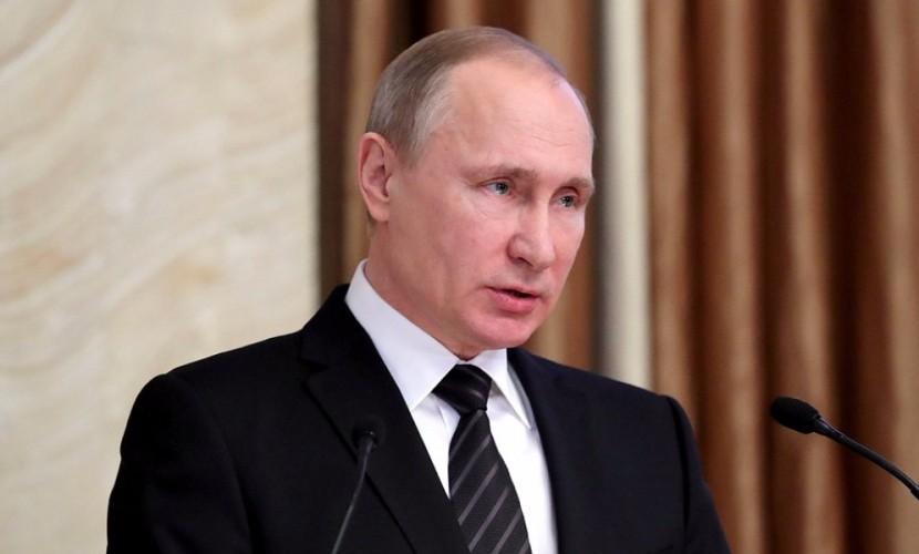 Путин обнародовал число иностранных шпионов, нейтрализованных в 2016 году сотрудниками ФСБ