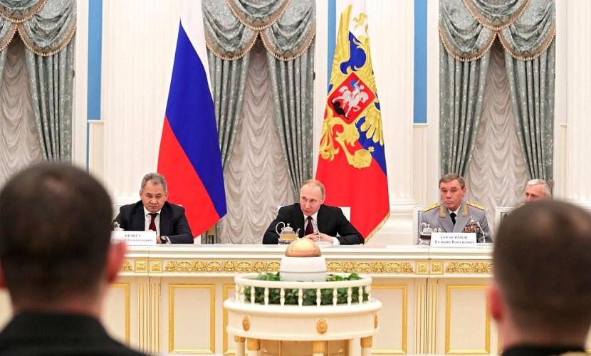 Путин признался морякам, что поход в Сирию «Адмирала Кузнецова» - его личная инициатива