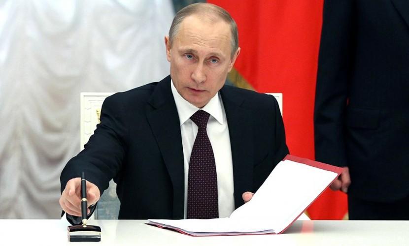 Путин определил дату проведения в Санкт-Петербурге Ассамблеи Межпарламентского союза