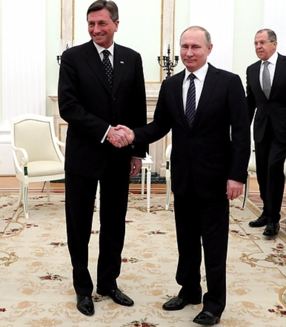 Путин выразил в Кремле свою готовность впервые встретиться с Трампом в словенской столице