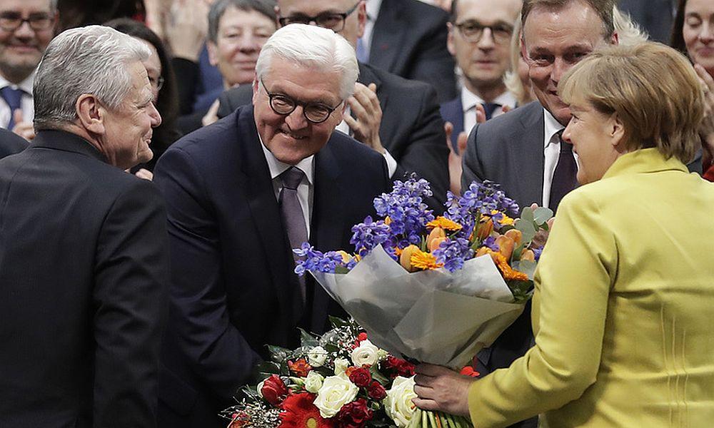 Штайнмайер одержал безоговорочную победу во время выборов 12-го президента Германии