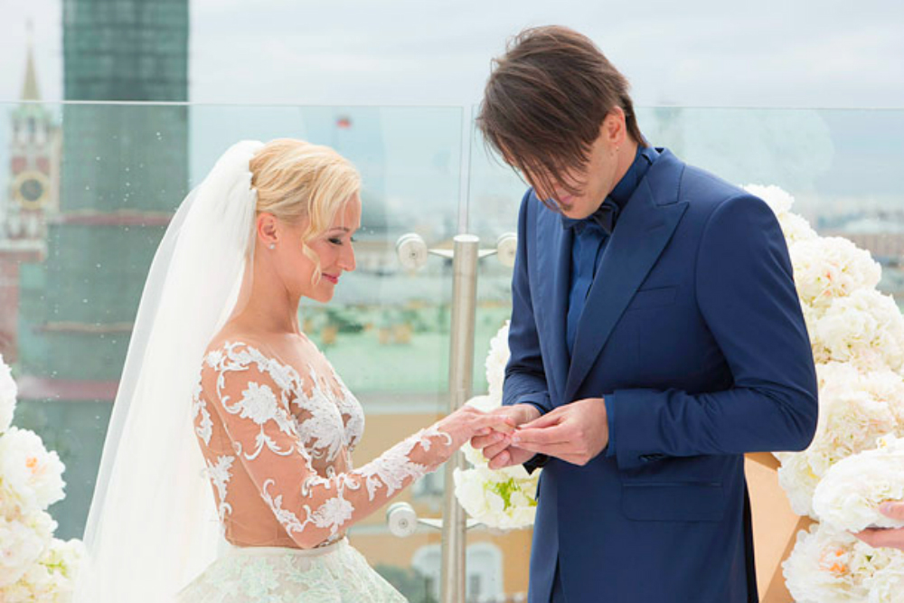 Свадьба Максима Транькова и Татьяны Волосожар