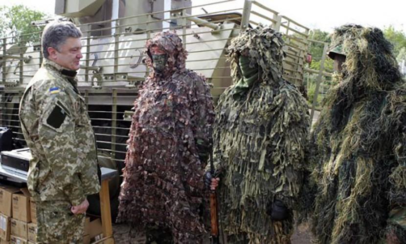 ВЛуганской области группа украинских силовиков невернулась сзадания