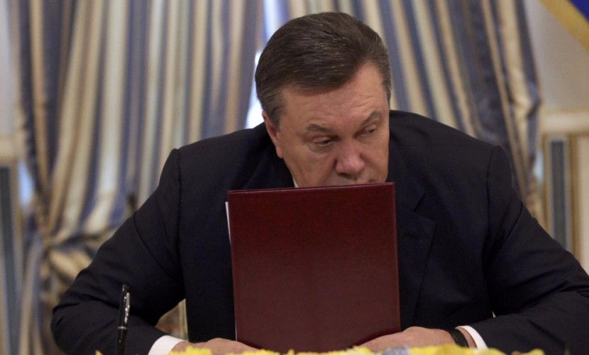 Проведение референдума о статусе Донбасса предложил бывший украинский лидер Янукович