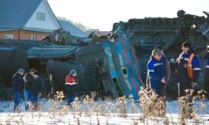 В Сети появились фотографии последствий страшной железнодорожной катастрофы в Башкирии