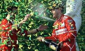 Пилот команды Ferrari выиграл Гран-при Австралии «Формулы-1»