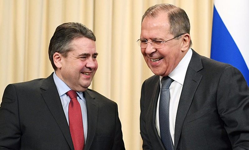 Лавров указал немецкому коллеге на необходимость прекращения блокады Донбасса