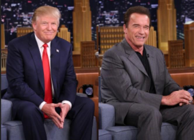 Трамп резко ответил Шварценеггеру на обвинения в падении рейтинга его реалити-шоу
