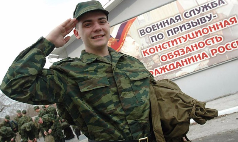 Путин подписал указ о весеннем призыве в армию 142-х тысяч молодых жителей России
