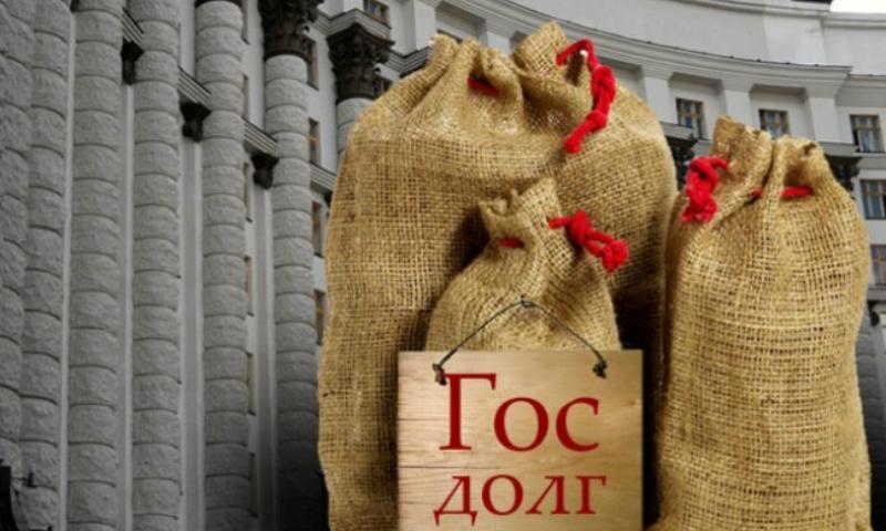 Государственный долг Украины вырос до 72 миллиардов долларов