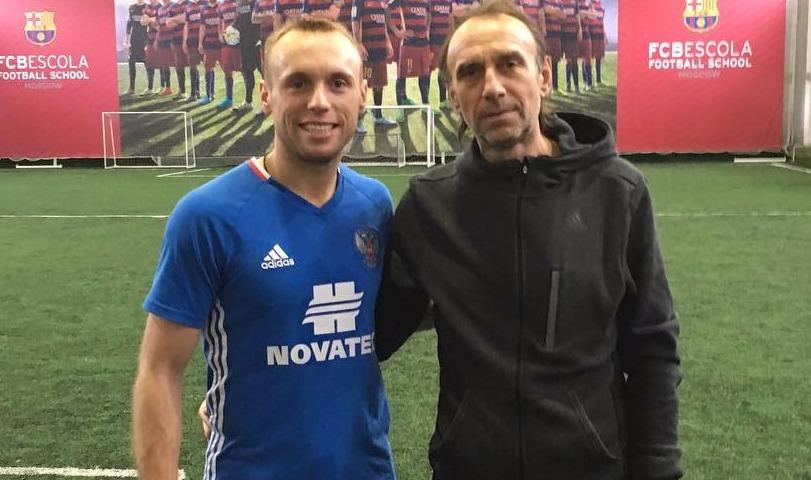 Умер самый светловолосый ветеран футбола Валерий Глушаков - дядя капитана