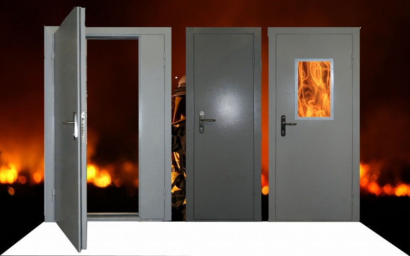Характеристики конструкции и монтажа противопожарных дверей