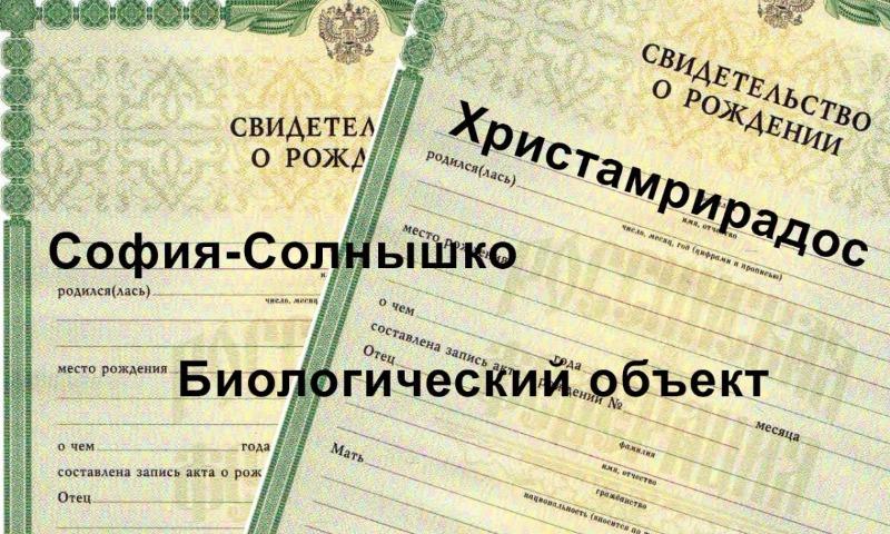 В Госдуме сделали первый шаг к запрету родителям называть детей нелепыми именами в России
