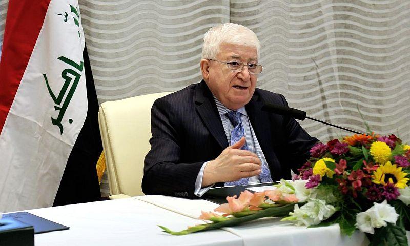Президент Ирака Масум заявил о нежелании строить отношения с США против России
