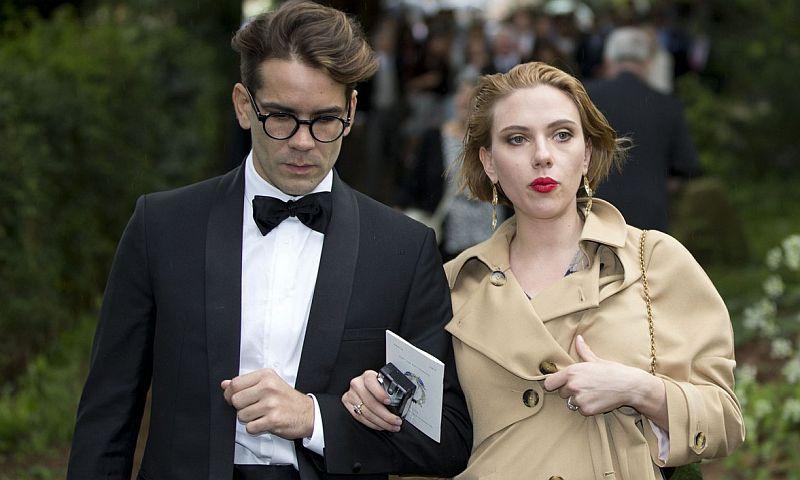 Голливудская кинозвезда Скарлетт Йоханссон подала на развод с французским мужем