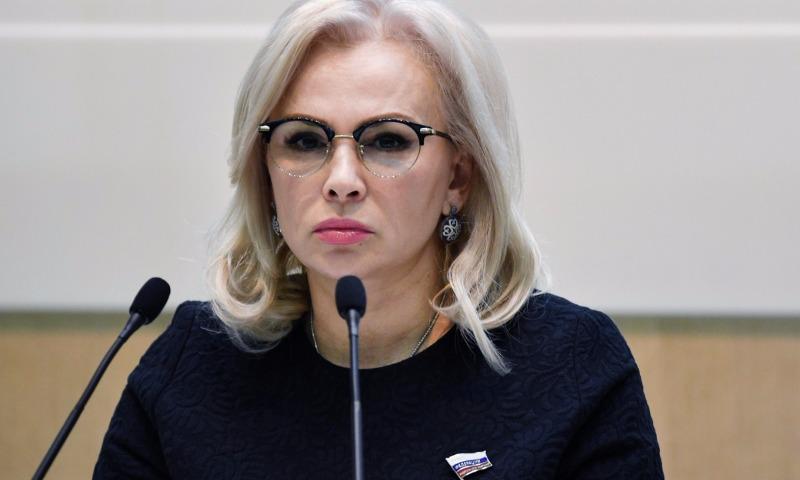 Крымский сенатор предложила признать Россией Донецкую и Луганскую Народные Республики