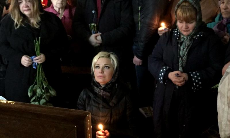 Дениса Вороненкова похоронили на элитном кладбище в Киеве