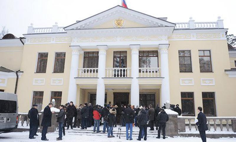 Бизнесменов-строителей задержали за хищения во время возведения резиденции главы государства в Ново-Огарёве