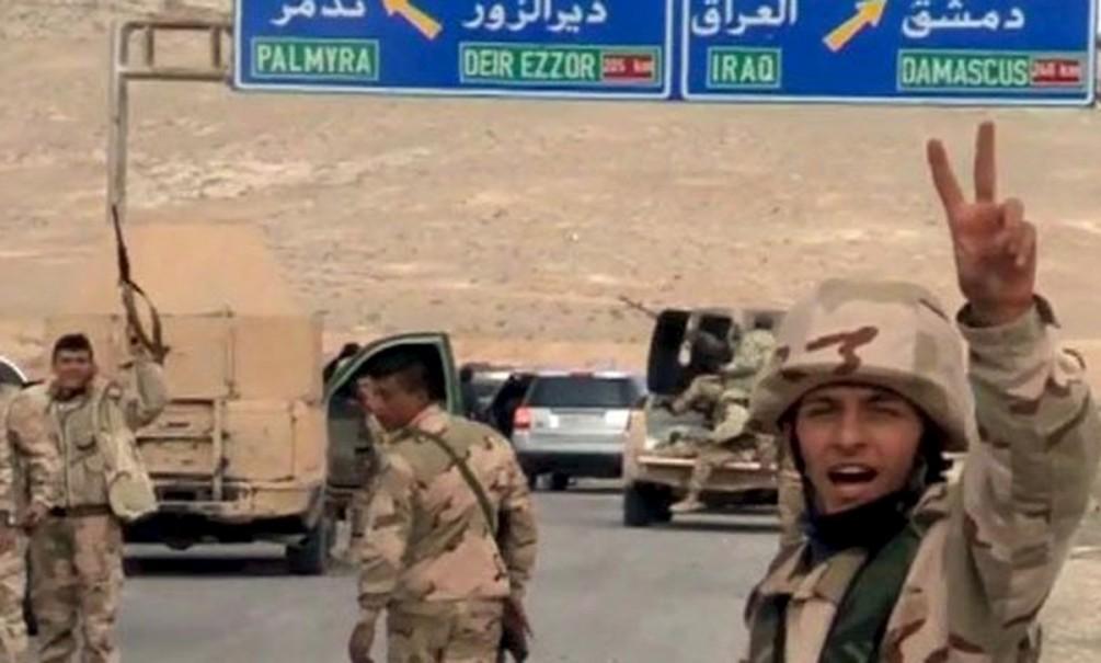 Россия помогла сирийским вооруженным силам освободить Пальмиру