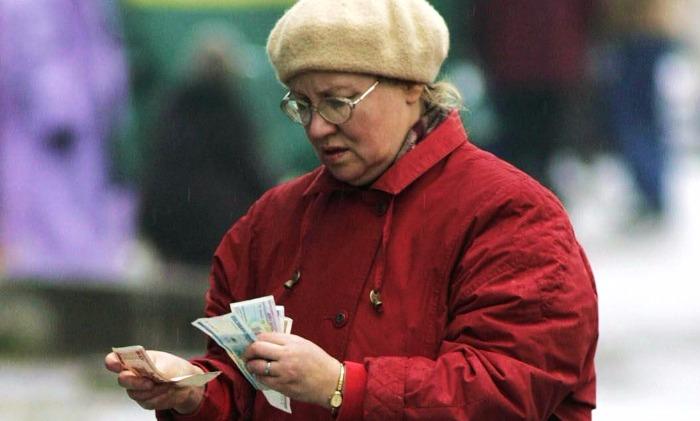 Российские пенсионеры отказались тратить свои сбережения в январе
