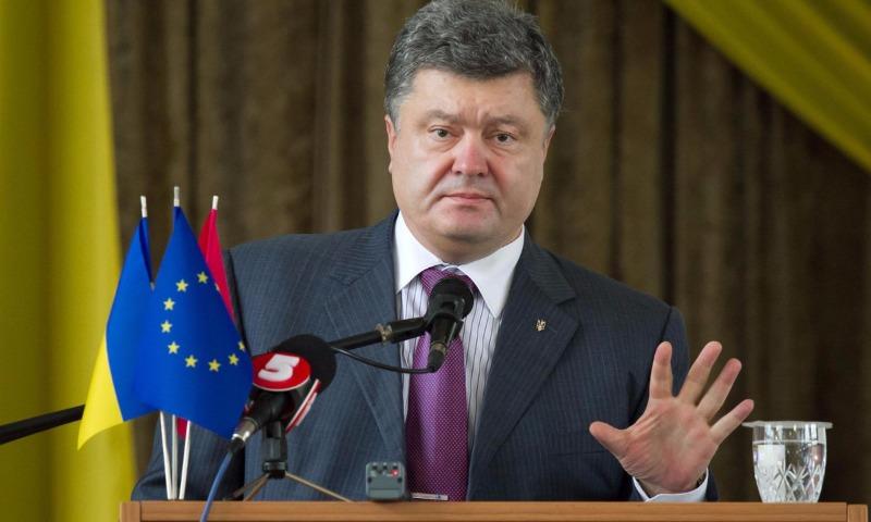 Порошенко ввел санкции в отношении работающих на Украине пяти российских банков