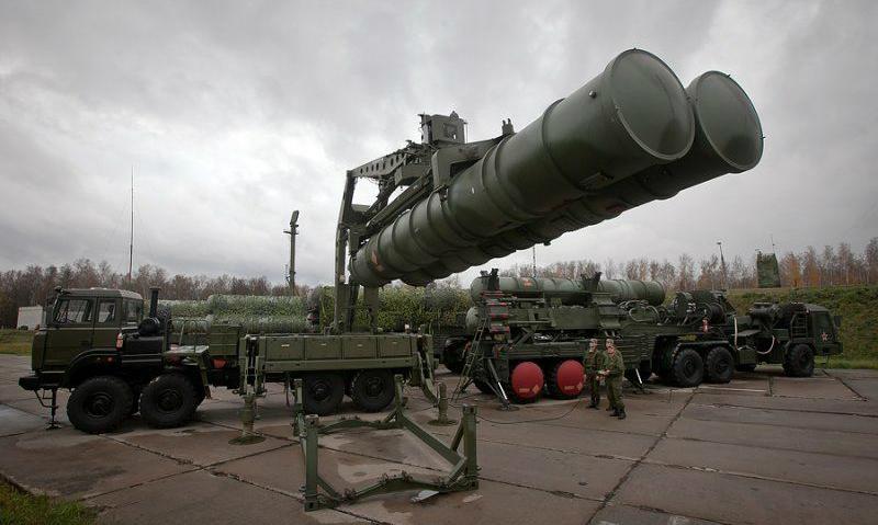 Россия поставила в Китай первые системы ПВО С-400 «Триумф»