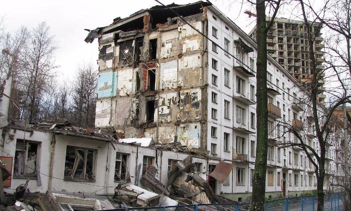 В Мосгордуме назвали примерный срок сноса всех пятиэтажных домов в российской столице