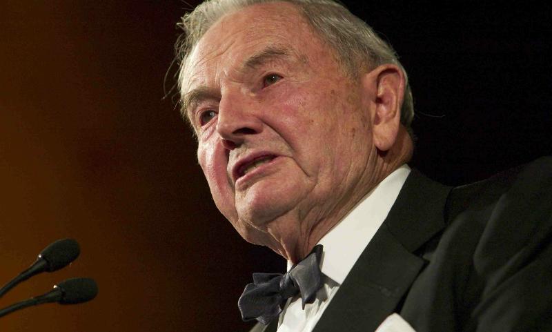 Старейший в мире миллиардер Рокфеллер, сделавший 6 пересадок сердца, умер в США
