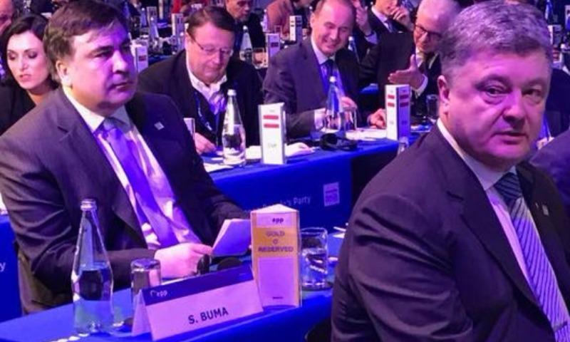 Дважды оконфузившегося на Мальте грузинского украинца Саакашвили назвали