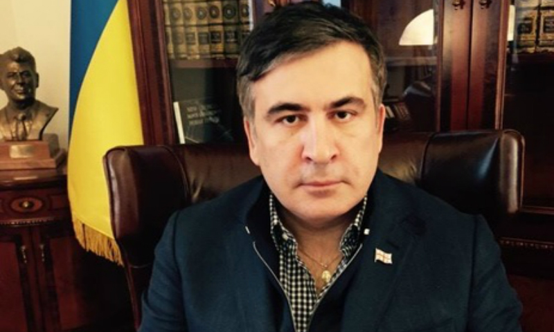 Михаила Саакашвили взяли телеведущим на один из украинских каналов