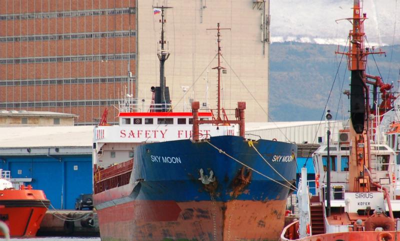 Украина конфисковала иностранное судно, заходившее в порт Севастополя