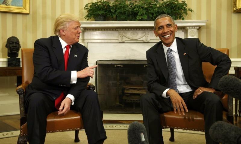 Трамп обвинил Обаму, что при его президентстве Россия стала сильнее и переиграла США