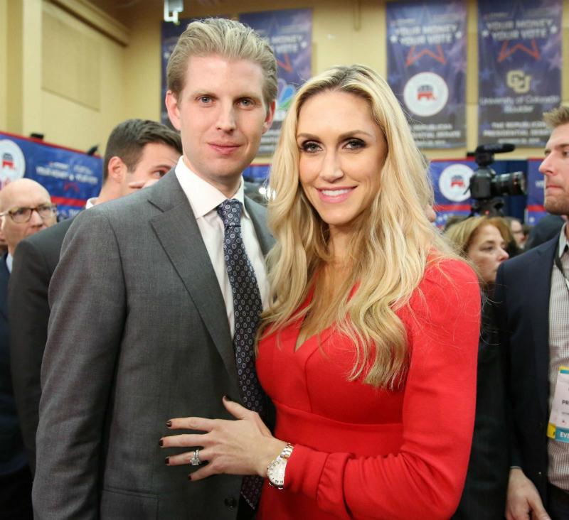 Эрик Трамп с женой
