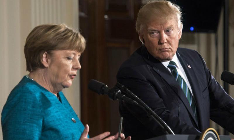 Ангела Меркель после разговора с Трампом заявила о необходимости налаживать отношения с Россией