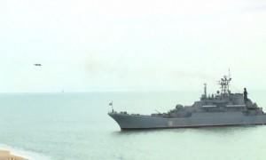 Опубликовано видео десантирования боевых машин с борта Ил-76 на учениях в Крыму