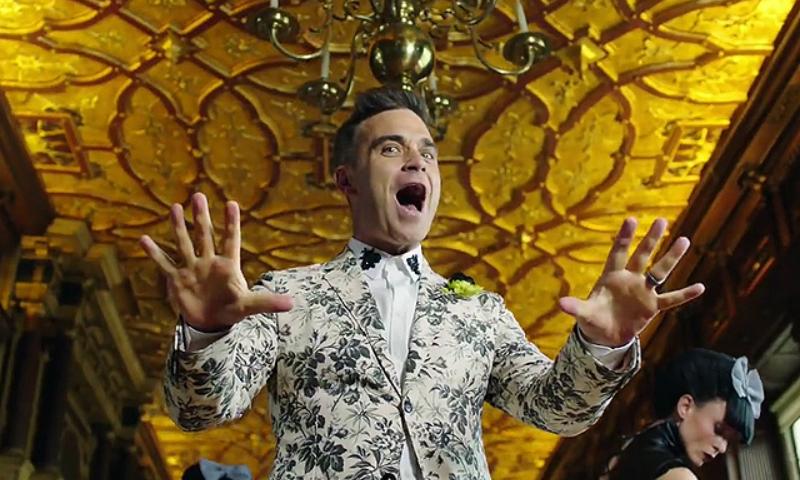 Фанат «Евровидения» Робби Уильямс предложил отправить его на конкурс от России