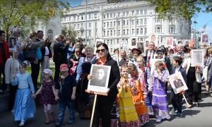 Участники уникальной акции «Бессмертный полк» в третий раз пройдут 9 мая по улицам Вены