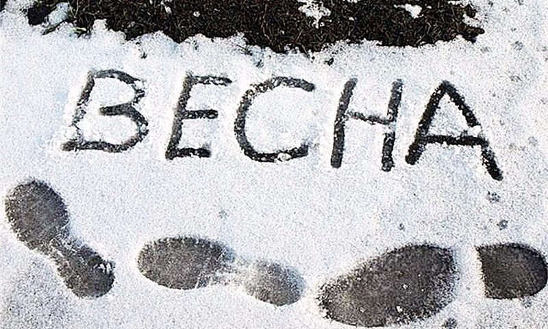 Это не шутка: 1 апреля в столичном регионе пойдет снег, но потом серьезно потеплеет