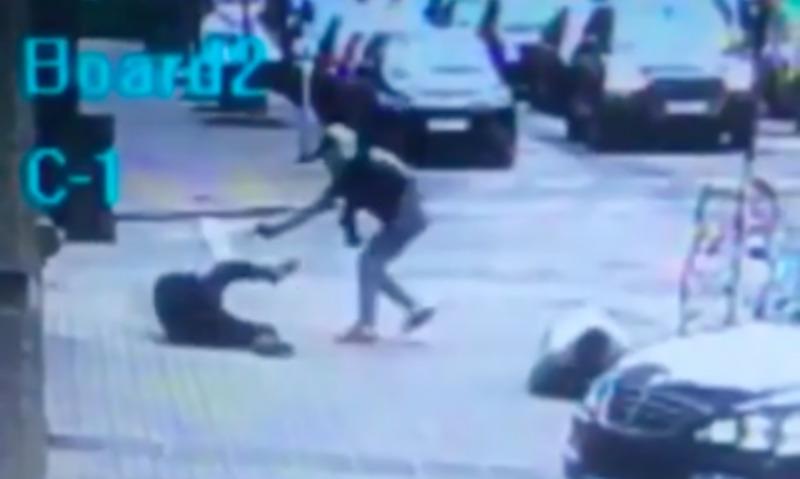 Опубликовано видео убийства бывшего депутата Госдумы Вороненкова в центре Киева