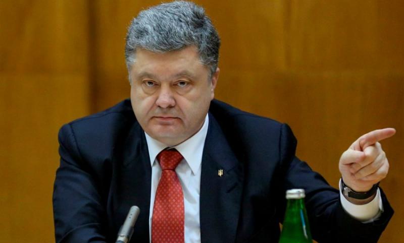 Порошенко отдал первоапрельский приказ о прекращении обстрела Донбасса