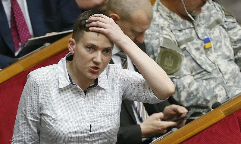 Надежда Савченко: Я физически чувствую, что Украина теряет Донбасс