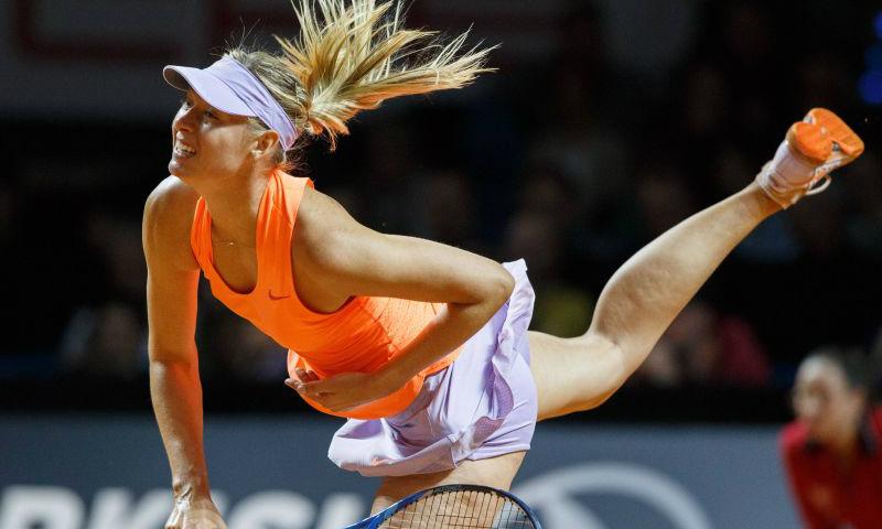 Мария Шарапова блистательно выиграла у итальянки Винчи первый матч после дисквалификации