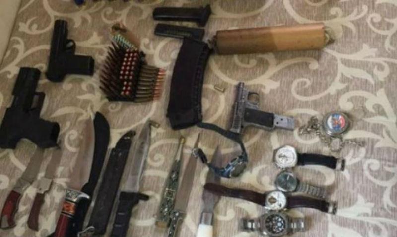 Украинские силовики заявили о задержании вооруженного россиянина с грузом взрывчатки