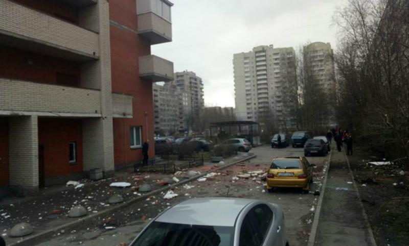Видео последствий новых взрывов в Санкт-Петербурге опубликовано в Сети